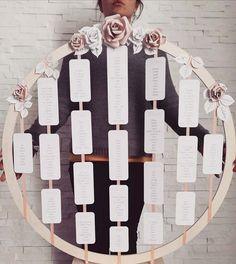 Tableau matrimonio tema fiori: tante idee da cui prendere spunto! Tableau Marriage, Wedding Stationery, Bride, Holiday Decor, Party, Diy, Weeding, Pizza, Weddings