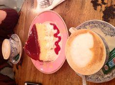Cheesecake, pudding café
