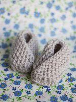 Diy baby warm cute slippers