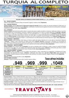 Turquía al Completo Salidas Sábados de Mayo desde Bilbao 949 € Tasas incluidas - http://zocotours.com/turquia-al-completo-salidas-sabados-de-mayo-desde-bilbao-949-e-tasas-incluidas/