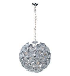 ET2 - Lalique 20 Light Pendant