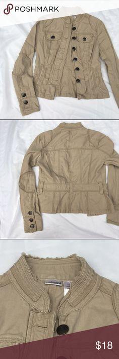 Tan Jacket 🌼🌼🌼 Gorgeous tan Jacket. Size s. No Boundaries Jackets & Coats