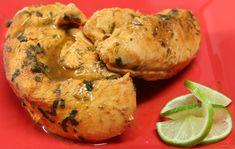 Deliciosa y sencilla receta de pollo al limón, acompaña esta receta con unas deliciosas verduras al vapor y arroz blanco.
