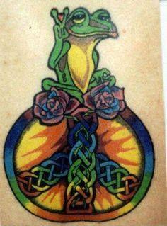 Peace Frog Tattoo