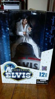 Las Vegas Presents Elvis 12 Inch 3rd Edition McFarlane Toys - New in Box