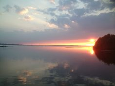 Sonnenuntergang am Steinhuder Meer 9.6.2013 #steinhude