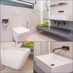 Heute geht es mit unserer WILL #Showroom Tour zu Bad Nummer 13.  Hier erwartet Sie eine moderne #Betonoptik, kombiniert mit interessanten #Sanitärobjekten. Bad, Showroom, Modern, Sink, Home Decor, Homemade Home Decor, Vessel Sink, Sink Tops, Sinks