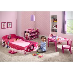 Delta Children Minnie Mouse Toddler Bed