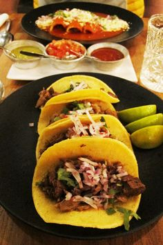 Mexican food at restaurant Patrona, Helsinki