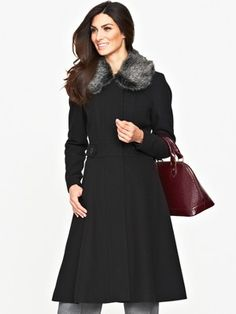 Savoir Fit and Flare Coat