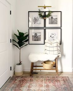 In case you missed it in my stories, I ordered this wreath from the new winter collection by hearth and hand and I am OBSESSED! Home Living Room, Living Room Designs, Living Room Decor, Home Design Decor, Design Design, Interior Decorating, Interior Design, Home Office Decor, Cheap Home Decor