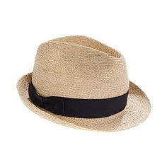 BILTMORE FOR MADWELL STRAW FEDORA