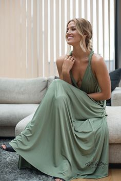 Whitestory & Friends own wrap dress in light-olive w/ separate top. Perfect as a bridesmaid dress. Shipping worldwide. Tailor Scissors, Suits You, Body Shapes, Different Styles, Style Guides, Wrap Dress, Bridesmaid Dresses, Separate, Model