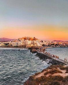 Golden hour on Naxos island (Νάξος)