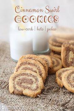 Keto Cinnamon Swirl Cookies Recipe plus 49 other Paleo cookie recipes