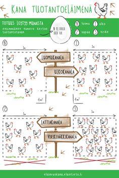 kana tuotantoeläimenä