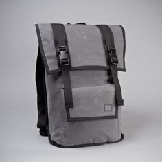 Waxed Canvas Rucksack by  Mission Workshop