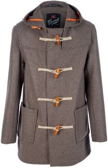 Gloverall Montgomery Coat - Lyst