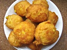 Corn Fritters from Serious Eats: Recipes by Sydney Oland Corn Fritter Recipes, Corn Recipes, Vegetable Recipes, Great Recipes, Favorite Recipes, Recipies, Corn Fritters Recipe Bisquick, Recipe For Corn Fritters, Corn Vegetable