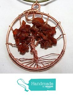 Baltic Amber and Copper Tree of Life Pendant with Leather Necklace from Wyvern Designs https://www.amazon.com/dp/B01KTVQDIW/ref=hnd_sw_r_pi_dp_G.sdybRA0Q389 #handmadeatamazon