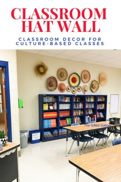 Decorative Hat Wall – Spanish Classroom Decor – The Gifted Gabber