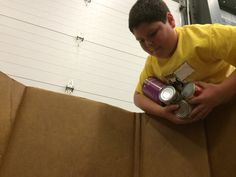 """""""You need to get involved and donate!"""" Stetson Elementary School fifth-grader Stephen Jannicola challenged the District 49 community to donate food during the Harvest of Love food drive. Jannicola and other Stetson Elementary School students took part in the 'Canstruction' event at Care and Share Food Bank of Southern Colorado in late October 2014 as a high performing school the previous year."""