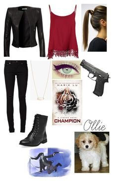 """""""June Iparis inspired (legend series)"""" by mc2000pl ❤ liked on Polyvore featuring New Look, Champion, Yves Saint Laurent and Wet Seal"""