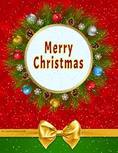 We wish you a Merry Christmas Birthday Greetings, Birthday Cards, Happy Birthday, Christmas Christmas, Christmas Wreaths, Good Morning Quotes Friendship, Face Massage, Massage Techniques, Wish