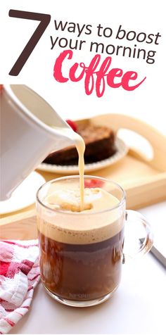 Do you start everyday with a cup of joe? Learn these 7 Ways to Boost Your Morning Coffee and bring added nutrition to your mornings! Yes, coffee just got the healthiest makeover yet. Holistic Nutrition, Healthy Cookie Recipes, Healthy Baking, Yummy Drinks, Yummy Food, Fun Food, Delicious Recipes, The Healthy Maven, Recipes