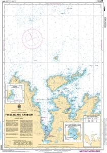 CHS Nautical Chart 4886: Twillingate Harbours