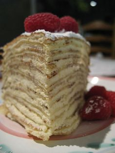 THE REAL CREPE CAKE@lvlyr2t thought you might be interested in these cakes.