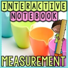 This differentiated interactive math notebook with folding & flipbook activities will teach your students all the essential measurement unit content, both metric and U.S. customary. It guides your math lessons using a hands-on and engaging approach.