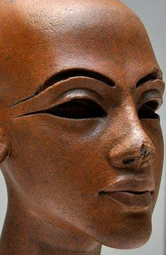 One of the daughters of Akhenaten and Nefertiti, this is probably the oldest, Meritaten.