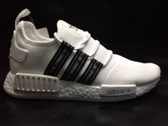 45a96e408 High Quality Mens Adidas NMD R1 PK White World Black BZ0293 For Sale