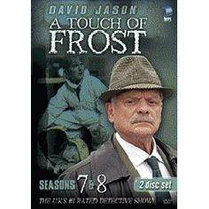 Detective Inspector Jack Frost is a disorganised DI for the Denton Police Force and will do anything to see that justice is done, even if he has to break the rules. Mystery Tv Series, A Touch Of Frost, John Lyon, David Jason, Break Of Day, Only Fools And Horses, Detective Series, Star Awards, Me Tv