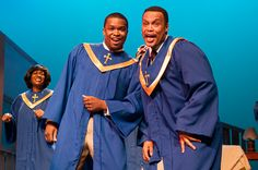 Jevares C. Myrick and LaParee Young in our production of Shakin' the Rafters by David H Bell for our 2012-2013 season at Kenny Leon's True Colors Theatre Company.