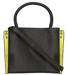Womens black tote bag from Dorothy Perkins - £22 at ClothingByColour.com