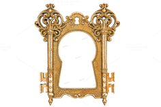 Check out Vintage golden picture frame by LiliGraphie on Creative Market