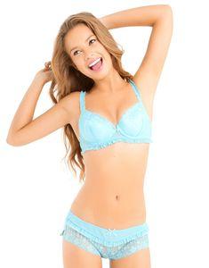 Cute bra and panties set