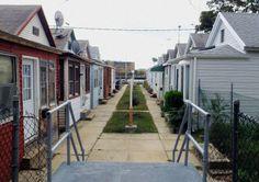 Houses in Sheepshead Bay, Brooklyn.