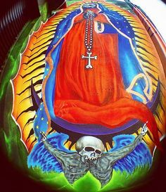 Santa Muerte painting ***