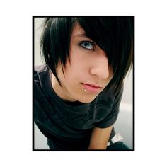 emo_boy image, picture by gaurdian_lady_rikku - Photobucket ❤ liked on Polyvore featuring people, pictures, boys, emo and guys