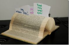 Noteholder....its awesome...reuse of an old book