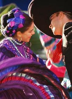 Mexican Dancers.... I love the Dance,and the Colors~