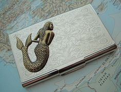 Mermaid Business Card Case