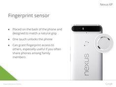 Nexus 6P - Fingerprint sensor