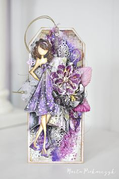 Gorgeous Julie Nutting doll tag by our very own, Marta! >>>MyArt - Marta: Julie Nutting - Prima