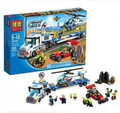 Bela 10422 Urban City Police Force Helicopter Truck Minifigures Building Block Minifigure Toys Compatible With Legoe City 60049 -in Blocks from Toys & Hobbies on Aliexpress.com | Alibaba Group