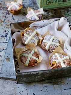 Hot cross muffins | Jamie Oliver