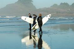 Tofino Surfing